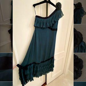 CHANEL Dress vintage Long Evening Dress